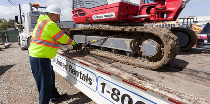 Transportation and Logistics at United Rentals
