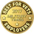 United Rentals award – Military Times 2017 Best for Vets Employer