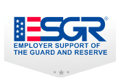 United Rentals award – ESGR (Employer Support of the Guard and Reserve)