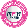 United Rentals award – Military Friendly: 2019 Top 100 Military Friendly Spouse Employer